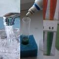 Water pH measuring kit
