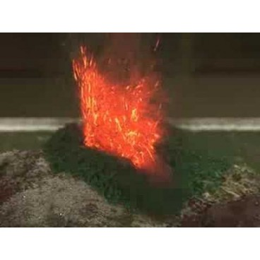 Volcano erupting kit